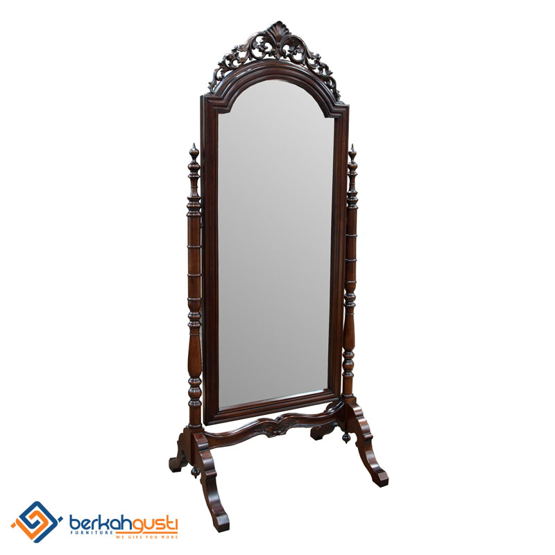 Mirror Frame - Mirror Frame Cheval Carved