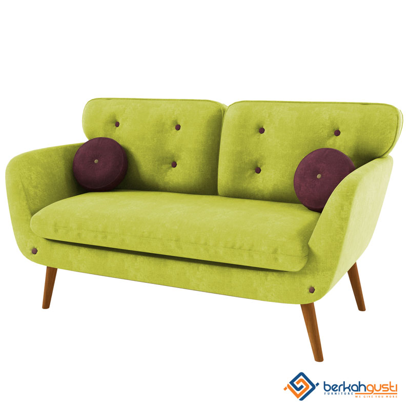 Sofa - Sofa Custom Lime 2 Seater