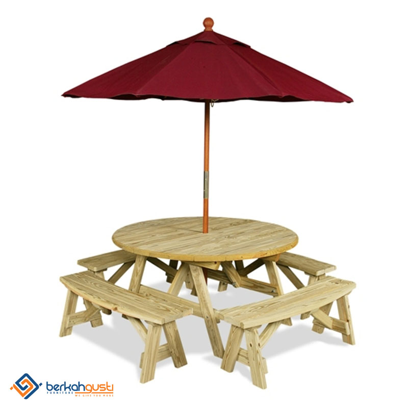 Umbrella Table - Model VI