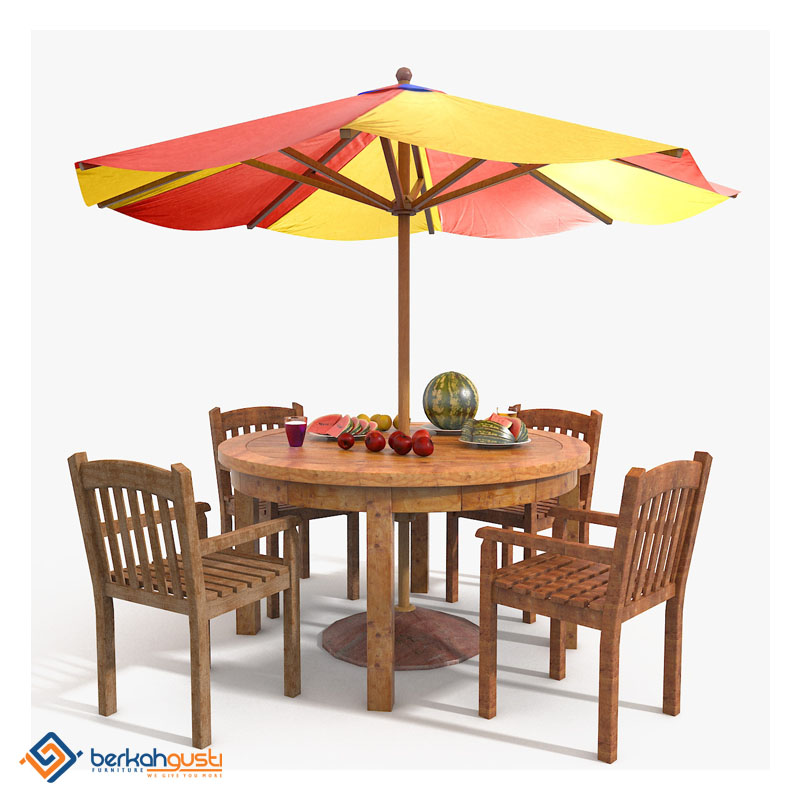 Umbrella Table - Model IX