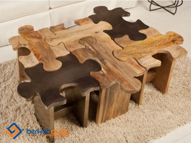 Custom Design - Coffee Table Puzzle