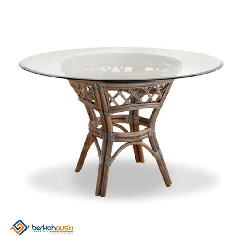 Rattan Table - Model IX